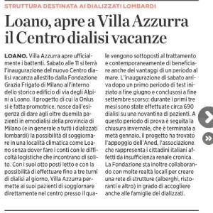 Il Secolo XIX   Savona   03-04-2013