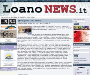 LOANO NEWS