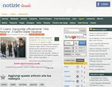 Notizie locali.it – 06 aprile 2013